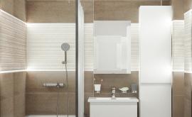 Дизайн интерьера 2-комнатной квартиры 52 кв.м. по адресу г. Москва, ул. Багрицкого, д. 10, к. 4. Фото 2
