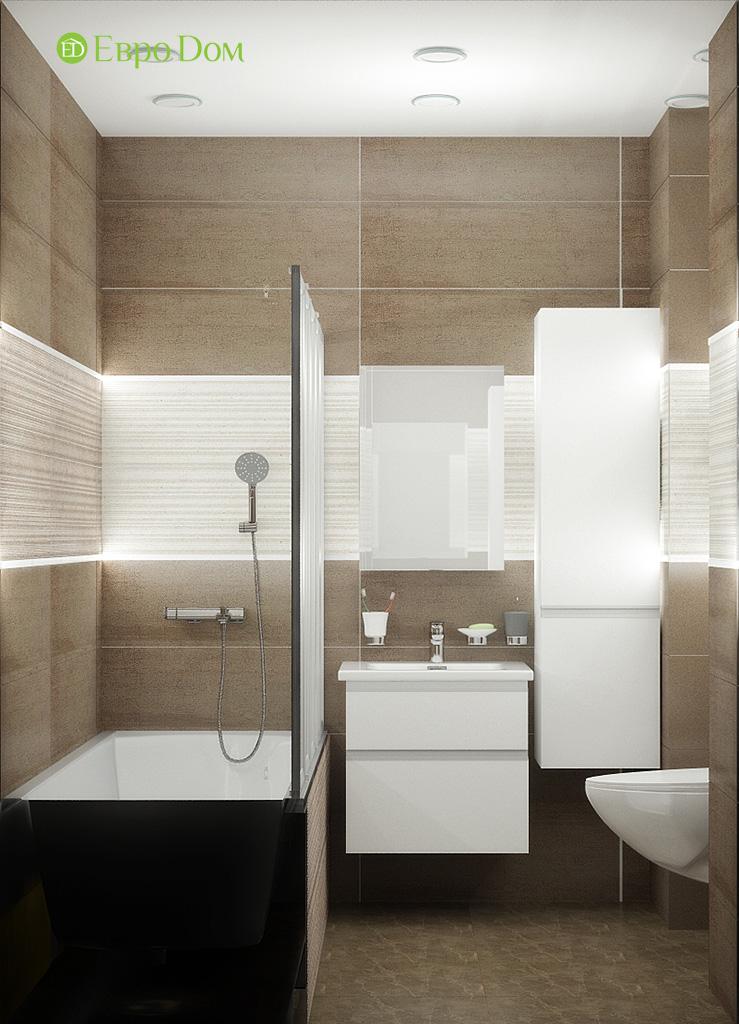 Дизайн 2-комнатной квартиры 52 кв. м в современном стиле. Фото 03