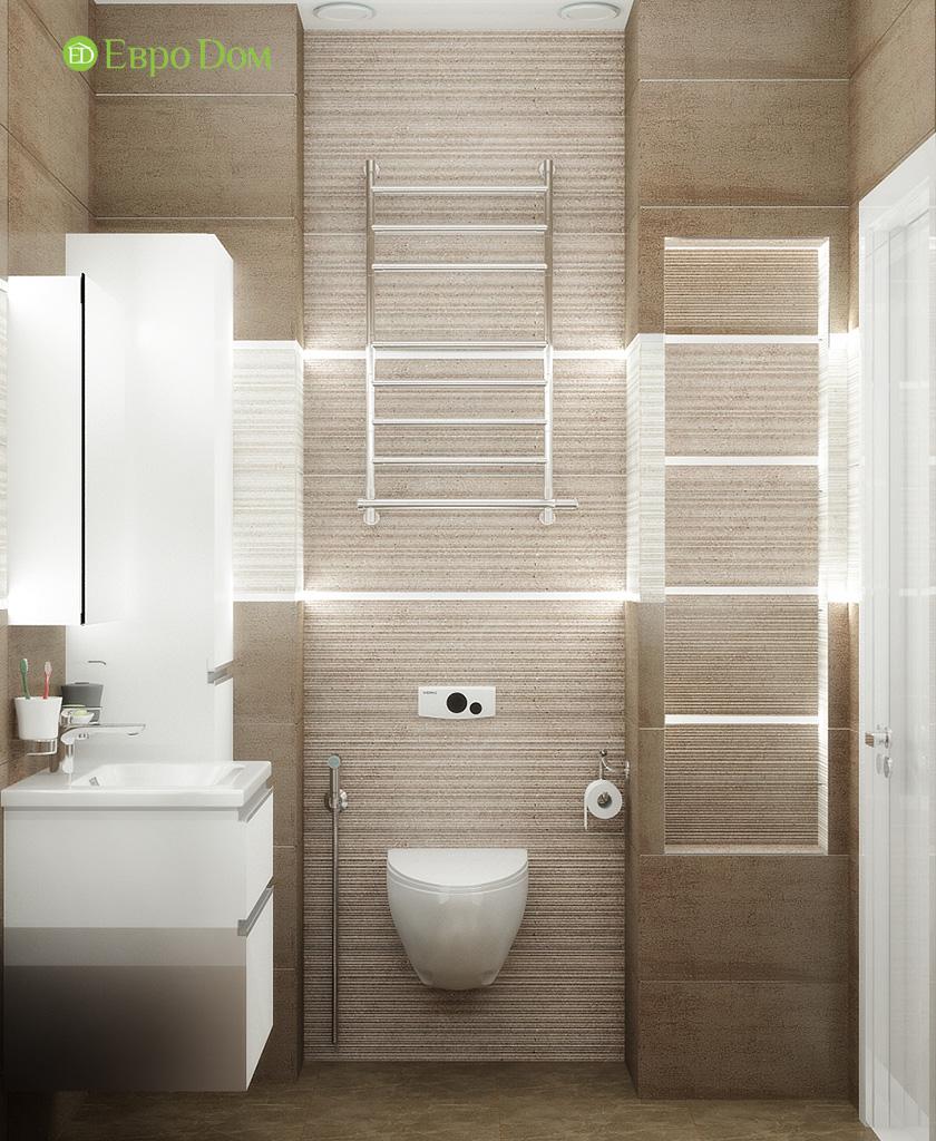 Дизайн 2-комнатной квартиры 52 кв. м в современном стиле. Фото 04