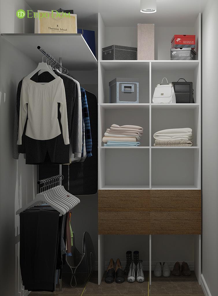 Дизайн 2-комнатной квартиры 52 кв. м в современном стиле. Фото 05