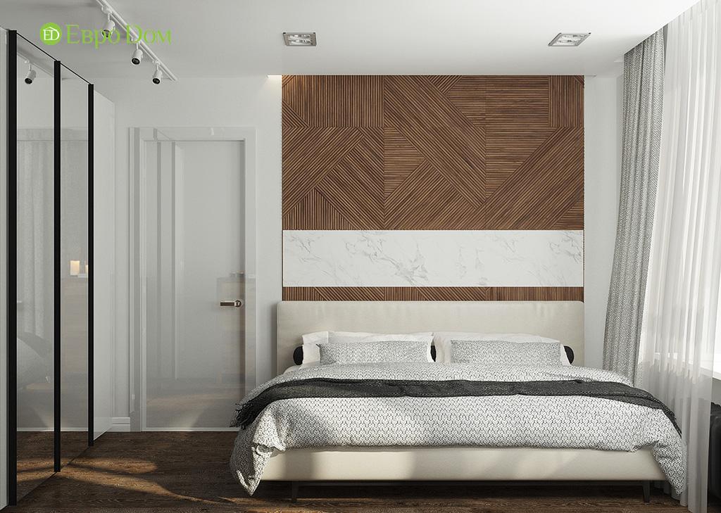 Дизайн 2-комнатной квартиры 52 кв. м в современном стиле. Фото 014