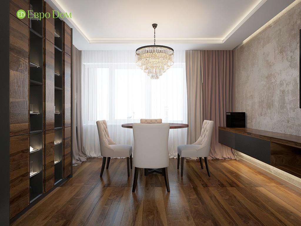 Дизайн 2-комнатной квартиры 93 метра в современном стиле. Фото 03