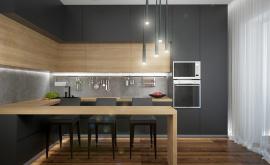 Дизайн интерьера квартиры в новостройке 93 кв.м. по адресу г. Москва, ул. Мельникова, д. 3, корп. 2. Фото 3
