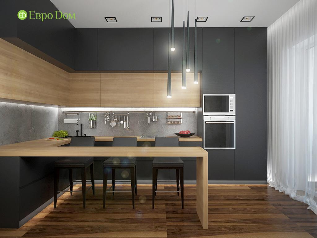 Дизайн 2-комнатной квартиры 93 метра в современном стиле. Фото 04