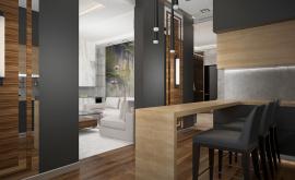 Дизайн интерьера квартиры в новостройке 93 кв.м. по адресу г. Москва, ул. Мельникова, д. 3, корп. 2. Фото 4