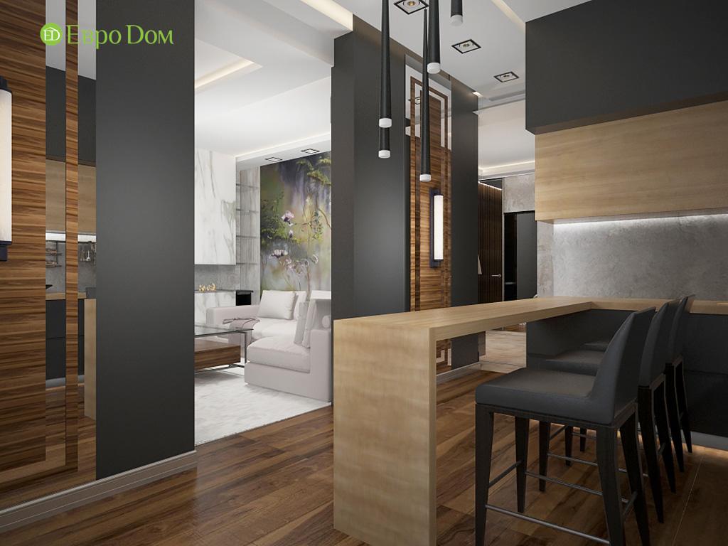 Дизайн 2-комнатной квартиры 93 метра в современном стиле. Фото 05