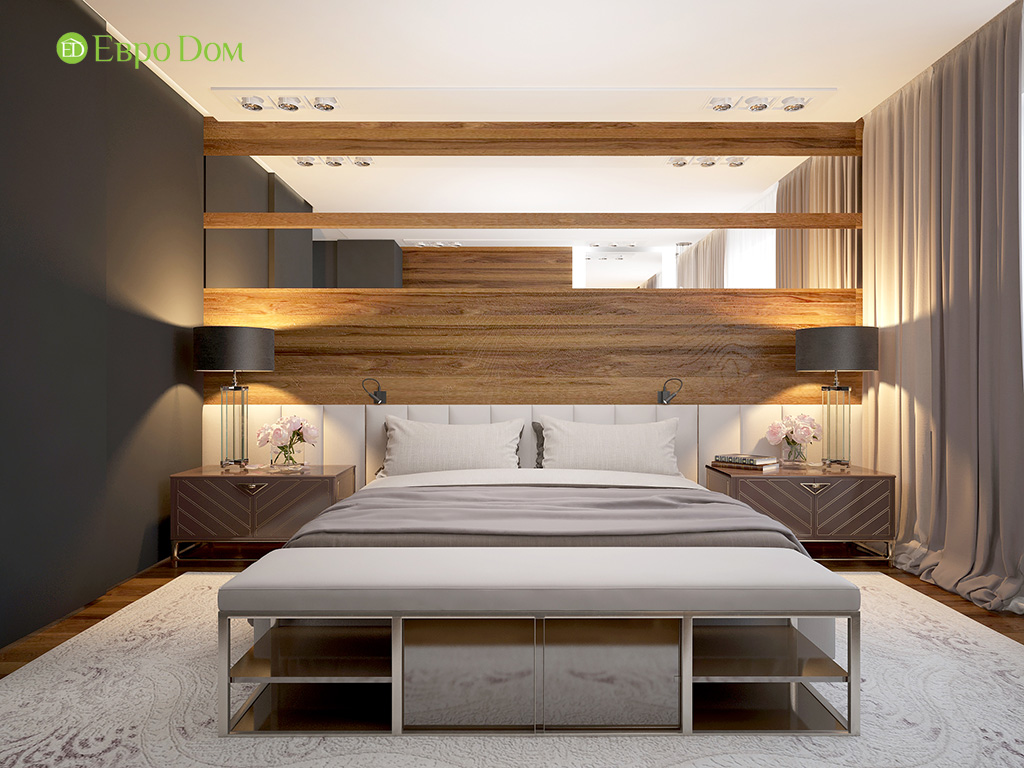 Дизайн 2-комнатной квартиры 93 метра в современном стиле. Фото 09