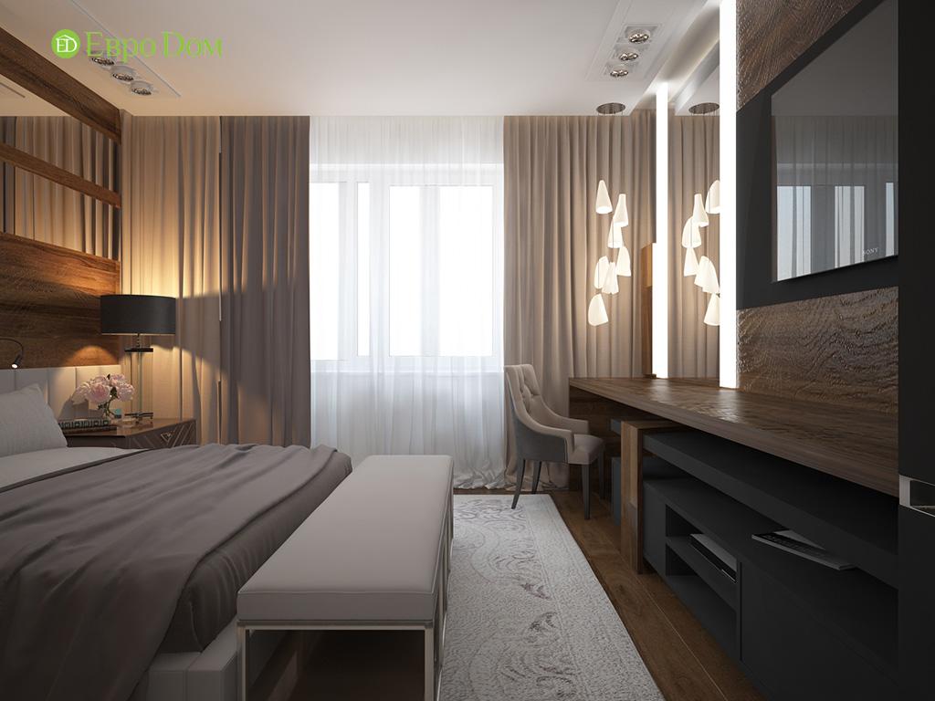 Дизайн 2-комнатной квартиры 93 метра в современном стиле. Фото 011