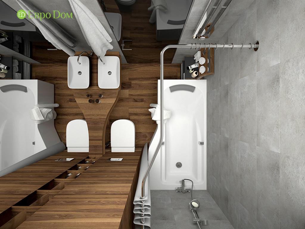 Дизайн 2-комнатной квартиры 93 метра в современном стиле. Фото 014
