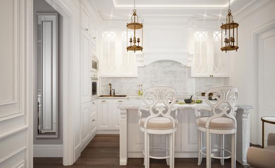 Дизайн интерьера квартиры 65 кв.м. по адресу г. Красногорск. Фото 1