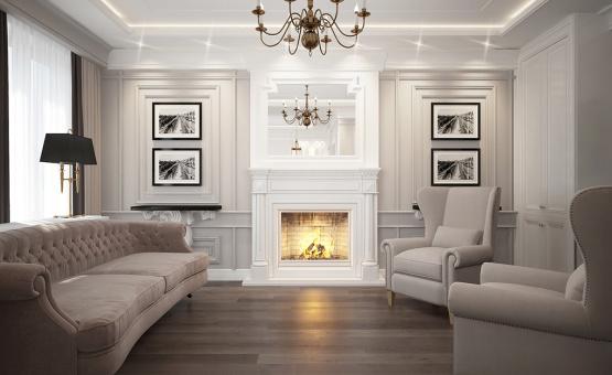Дизайн интерьера квартиры 65 кв.м. по адресу г. Красногорск. Фото 2