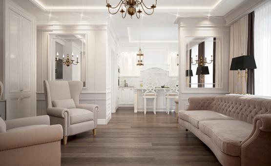 Дизайн интерьера квартиры 65 кв.м. по адресу г. Красногорск. Фото 3