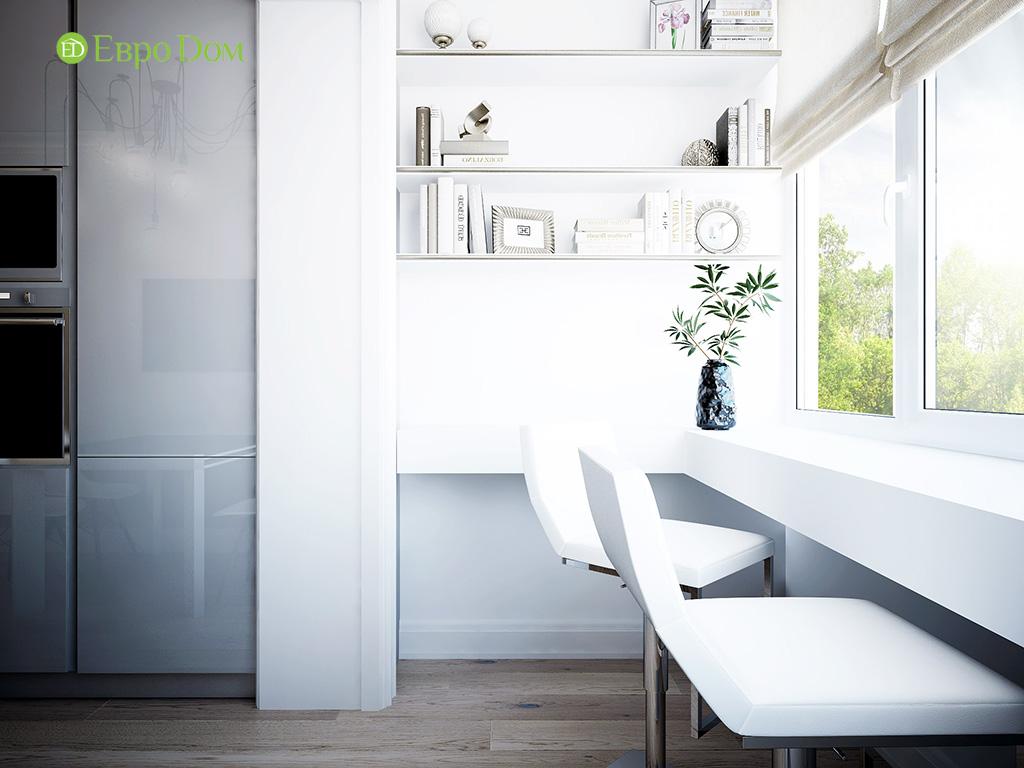 Дизайн 2-комнатной квартиры в скандинавском стиле. Фото 02