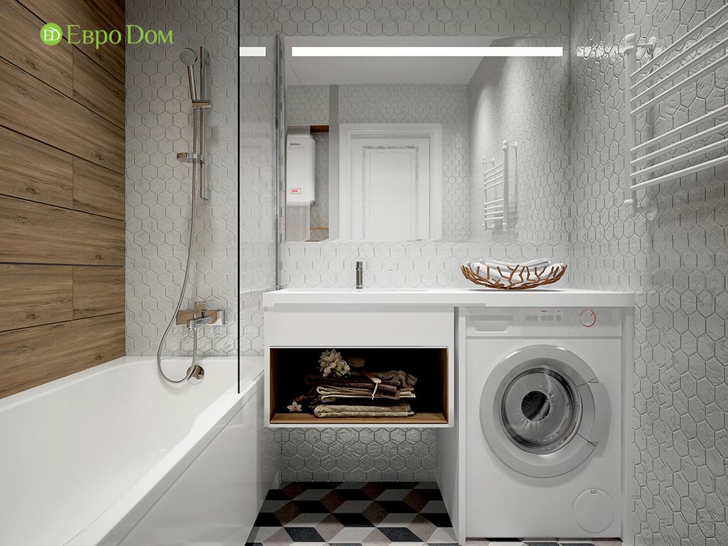 Дизайн 2-комнатной квартиры в скандинавском стиле. Фото 04