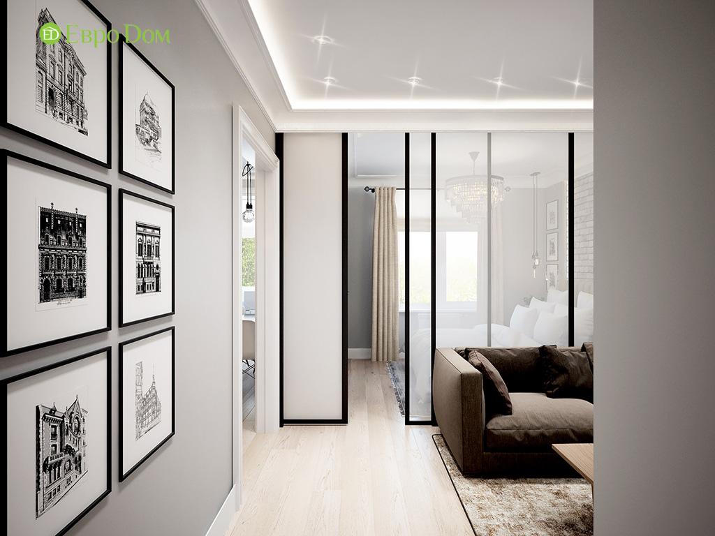 Дизайн 2-комнатной квартиры в скандинавском стиле. Фото 06
