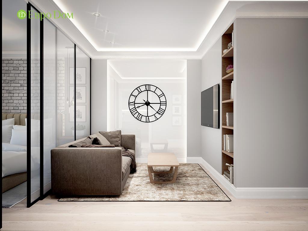 Дизайн 2-комнатной квартиры в скандинавском стиле. Фото 07