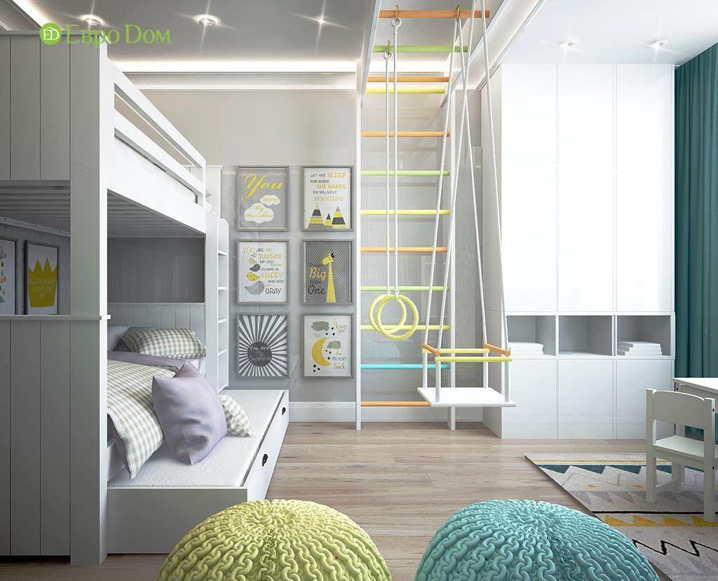 Дизайн 2-комнатной квартиры в скандинавском стиле. Фото 010