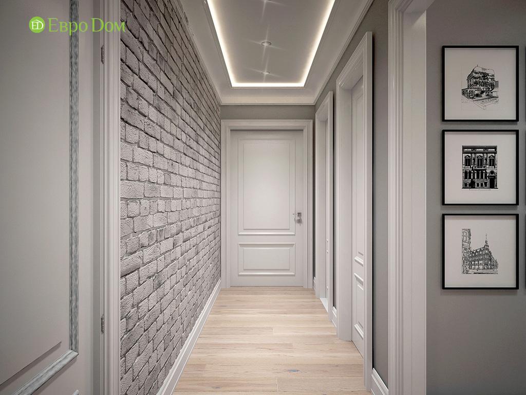 Дизайн 2-комнатной квартиры в скандинавском стиле. Фото 011