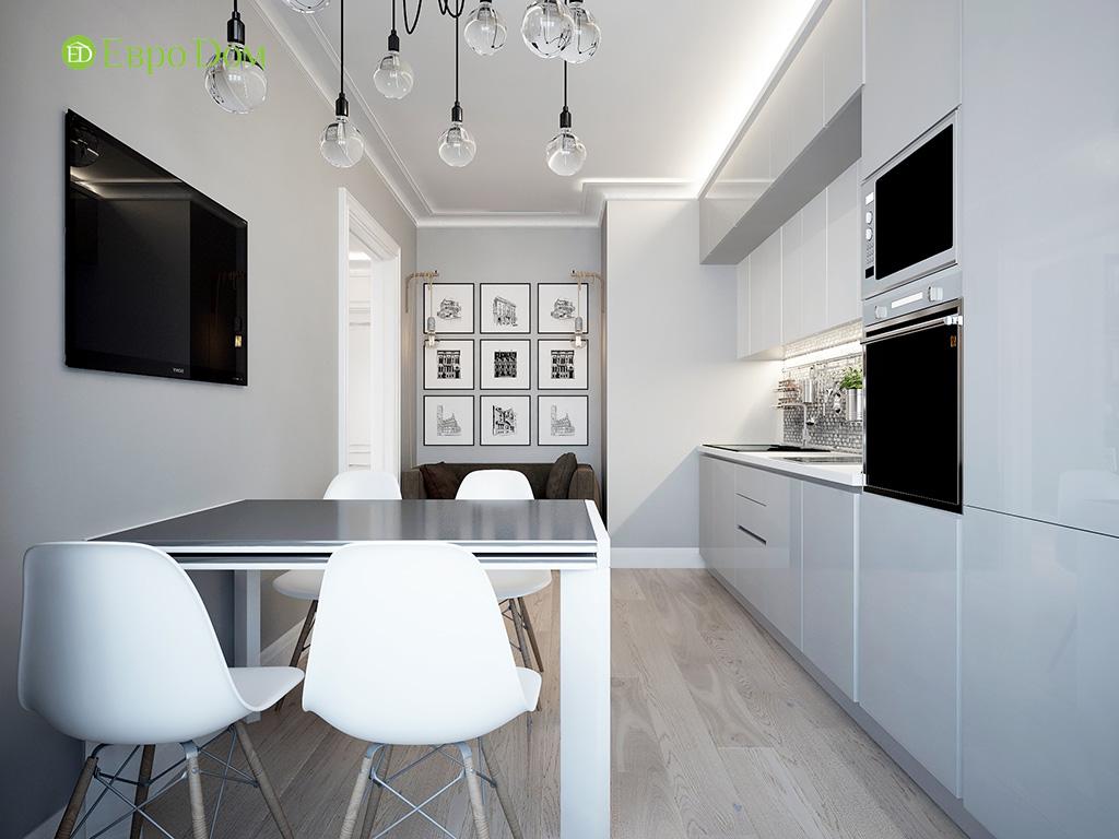 Дизайн 2-комнатной квартиры в скандинавском стиле. Фото 012