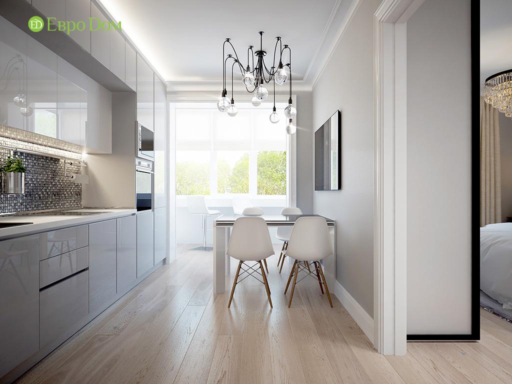 Дизайн 2-комнатной квартиры в скандинавском стиле. Фото 013