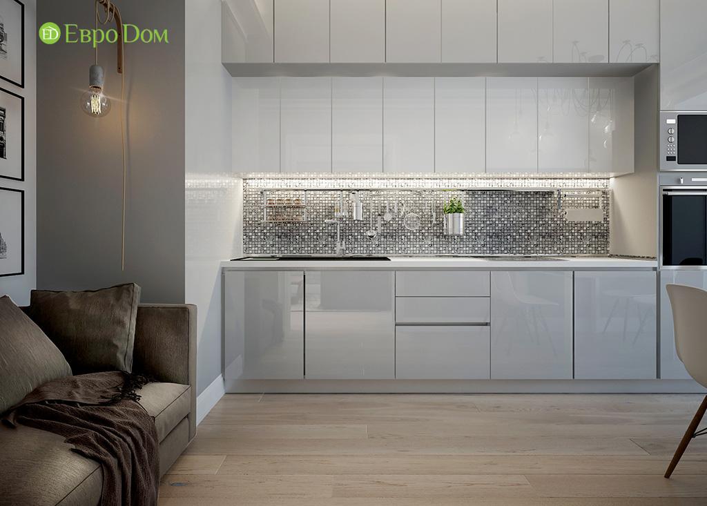 Дизайн 2-комнатной квартиры в скандинавском стиле. Фото 014