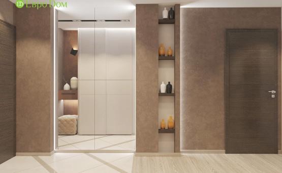 Дизайн интерьера 2-комнатной квартиры 57 кв.м. по адресу МО, Красногорский р-н, п. Отрадное д. 11, к. 1. Фото 4