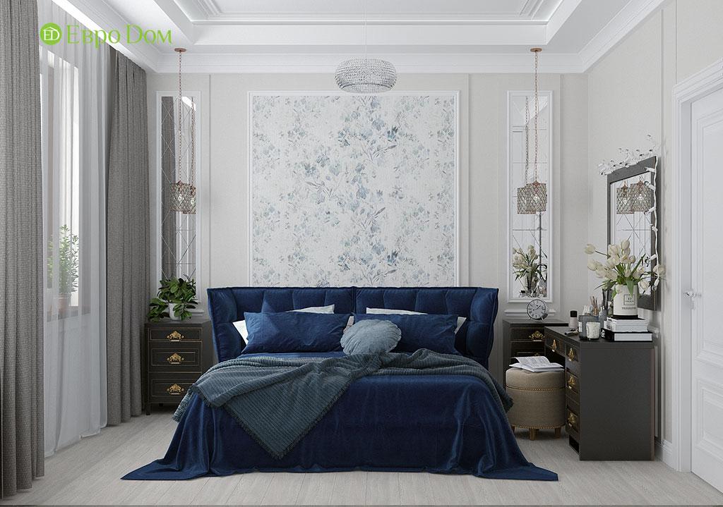 Дизайн 2-комнатной квартиры 60 кв. м в стиле неоклассика. Фото 011