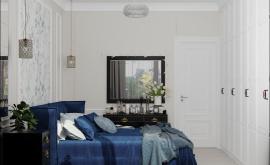 Дизайн интерьера 2-комнатной квартиры 60 кв.м. по адресу г. Москва, Астрадамский пр-д, д. 4а, к. 2, ЖК Северные ворота. Фото 1