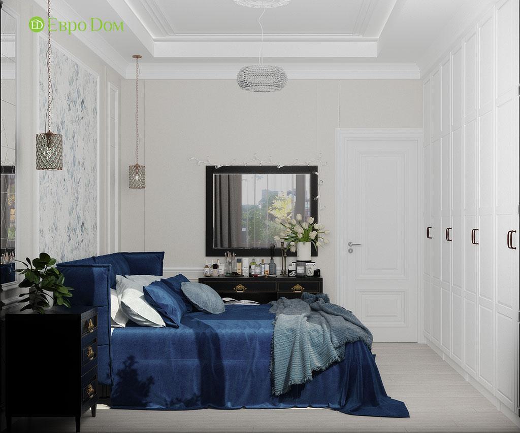 Дизайн 2-комнатной квартиры 60 кв. м в стиле неоклассика. Фото 02