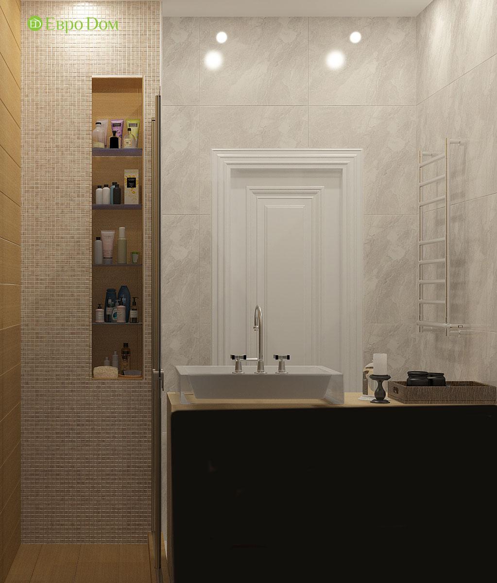 Дизайн 2-комнатной квартиры 60 кв. м в стиле неоклассика. Фото 04