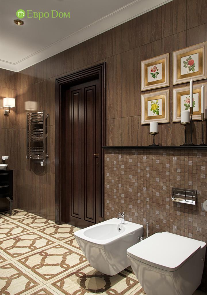 Дизайн трехкомнатной квартиры в английском стиле. Фото 02