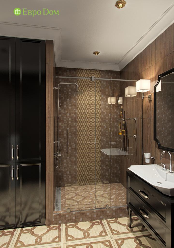 Дизайн трехкомнатной квартиры в английском стиле. Фото 04