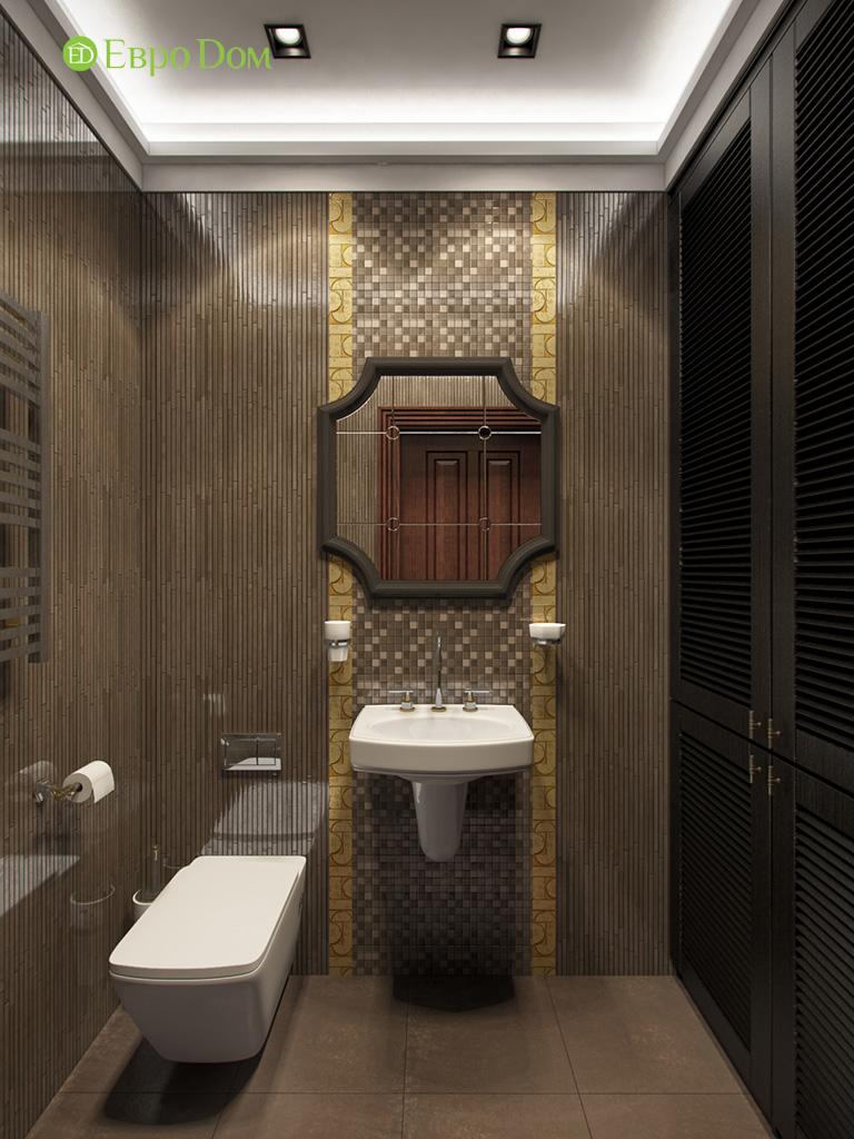 Дизайн трехкомнатной квартиры в английском стиле. Фото 05