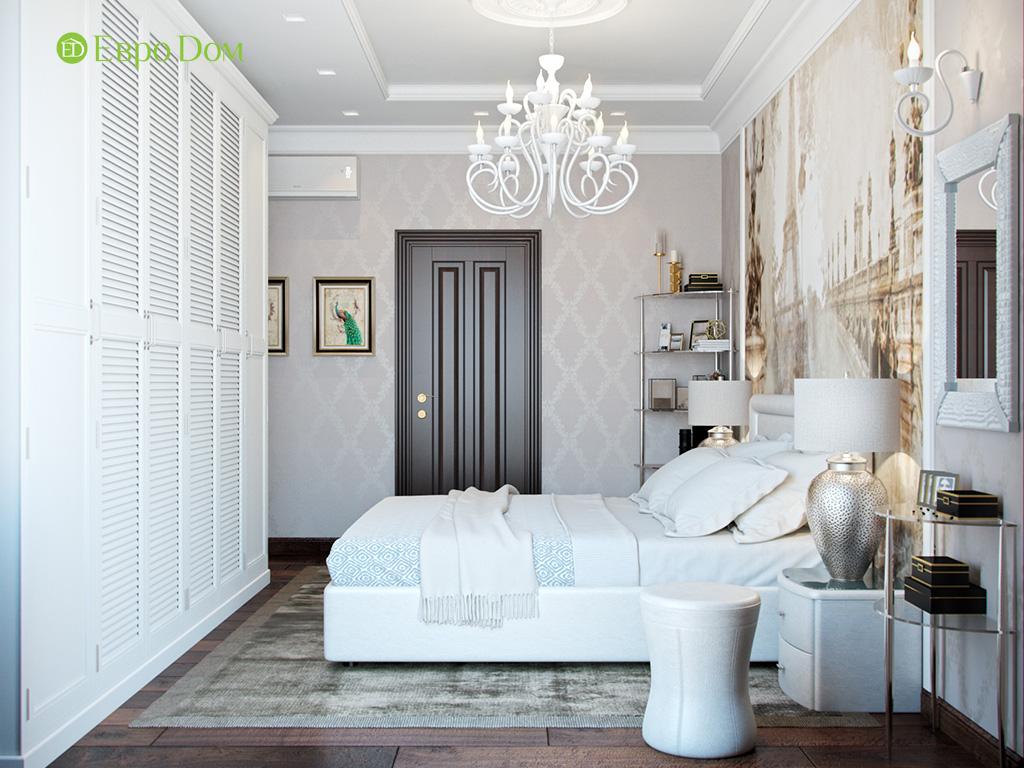 Дизайн трехкомнатной квартиры в английском стиле. Фото 018
