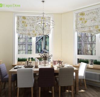 Дизайн трехкомнатной квартиры 86 кв. м в современном стиле. Фото проекта