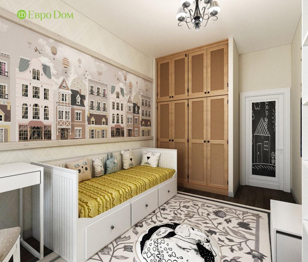 Дизайн интерьера трехкомнатной квартиры в современном стиле. Фото 06