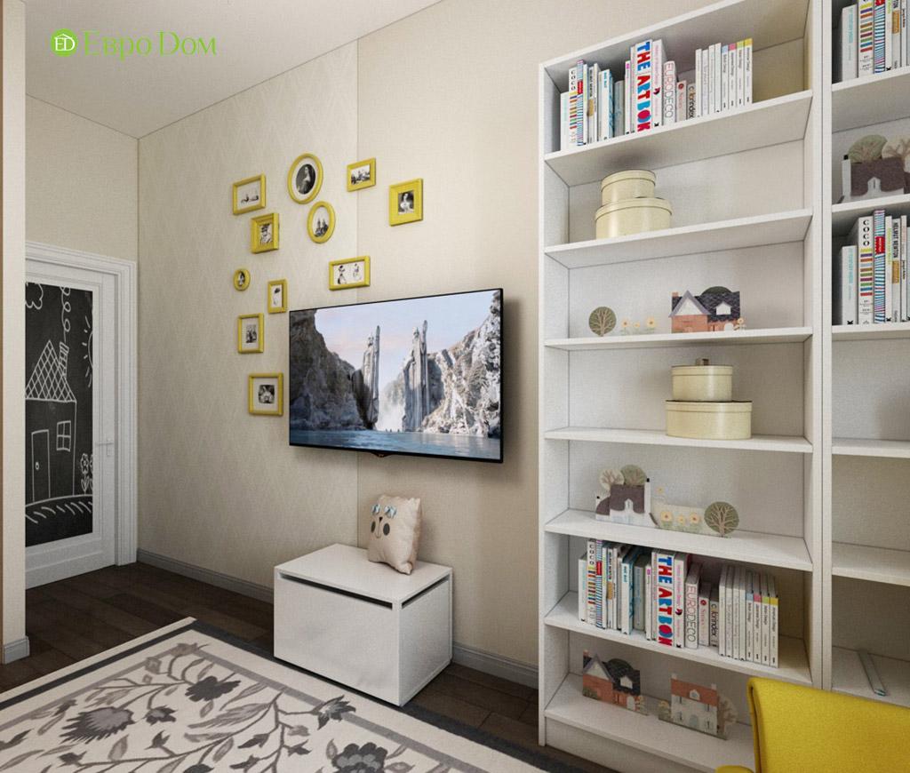Дизайн интерьера трехкомнатной квартиры в современном стиле. Фото 07