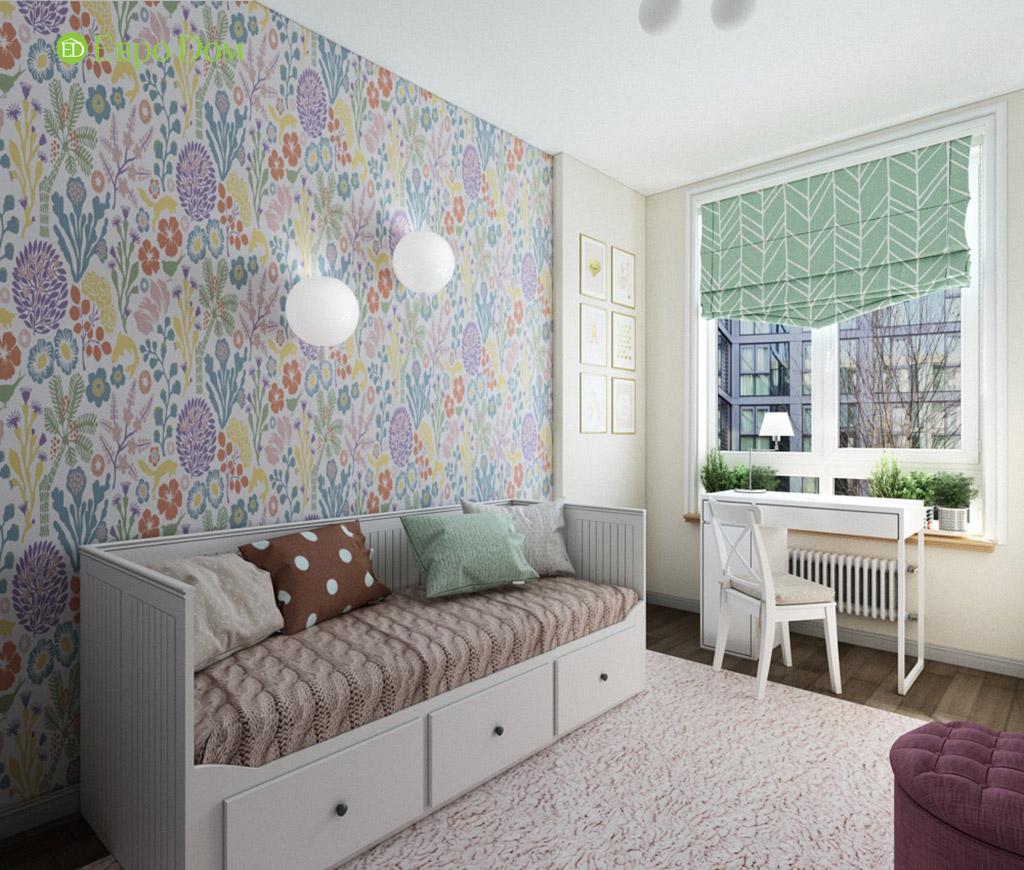 Дизайн интерьера трехкомнатной квартиры в современном стиле. Фото 08