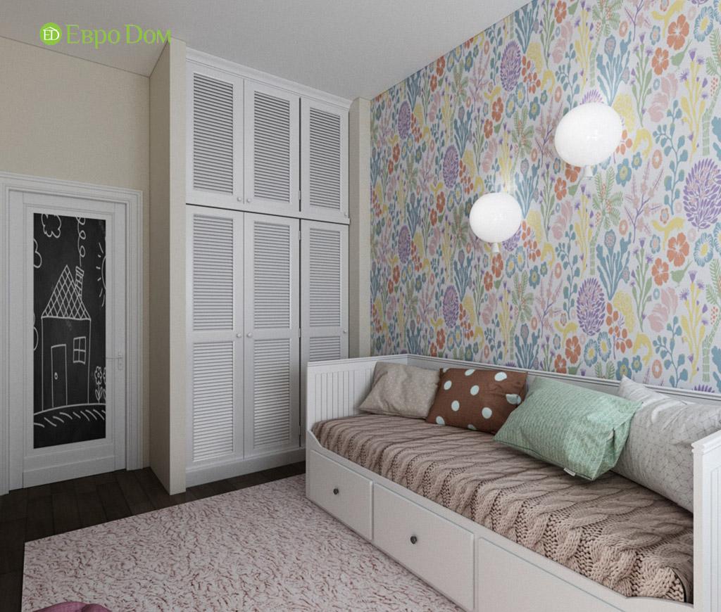 Дизайн интерьера трехкомнатной квартиры в современном стиле. Фото 010
