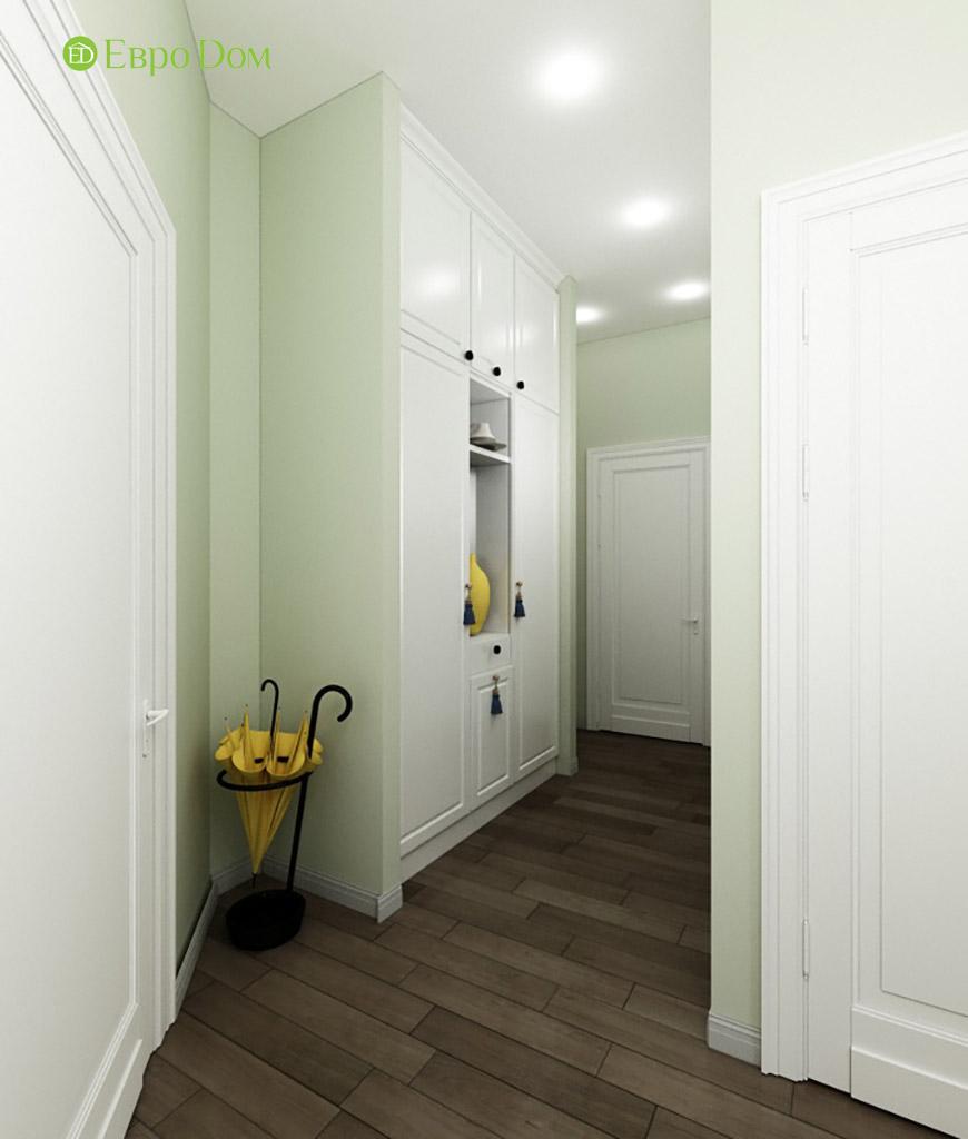 Дизайн интерьера трехкомнатной квартиры в современном стиле. Фото 011