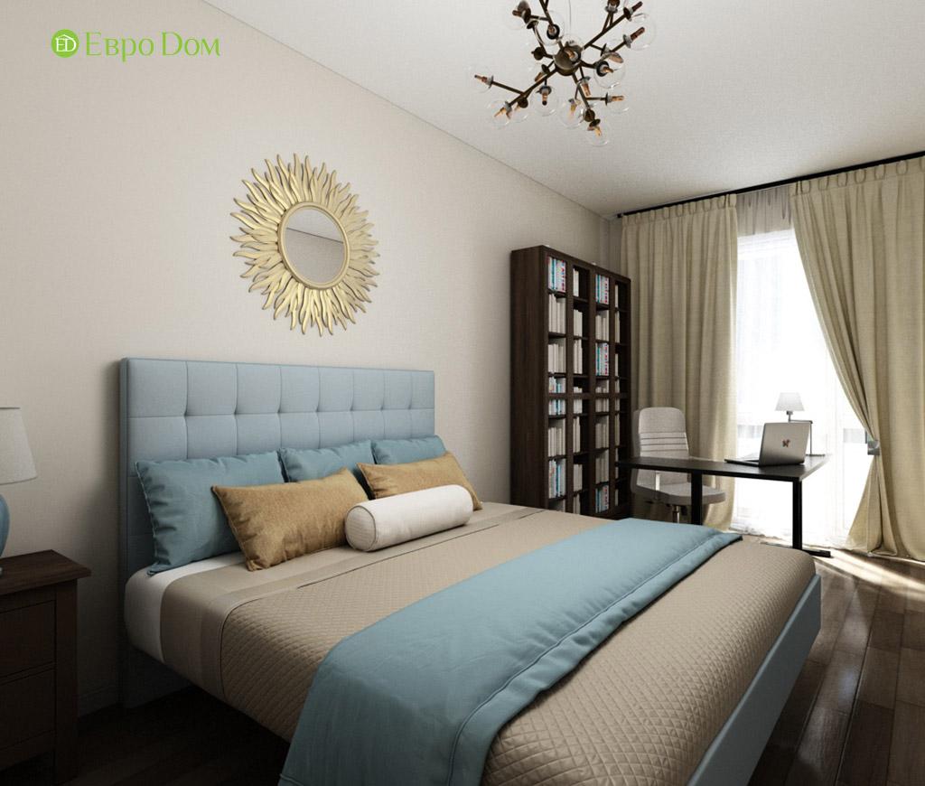 Дизайн интерьера трехкомнатной квартиры в современном стиле. Фото 014
