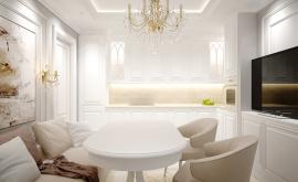 Дизайн интерьера трехкомнатной квартиры 60 кв.м. по адресу г. Москва, ул. Святозерская. Фото 1
