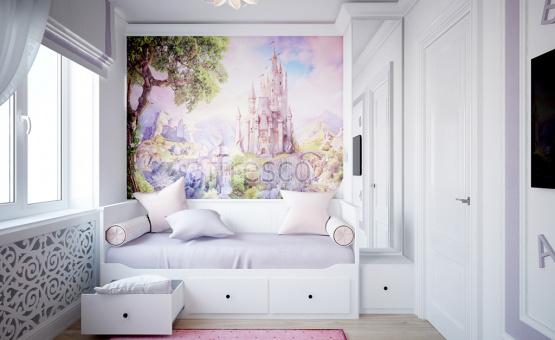 Дизайн интерьера трехкомнатной квартиры 60 кв.м. по адресу г. Москва, ул. Святозерская. Фото 3
