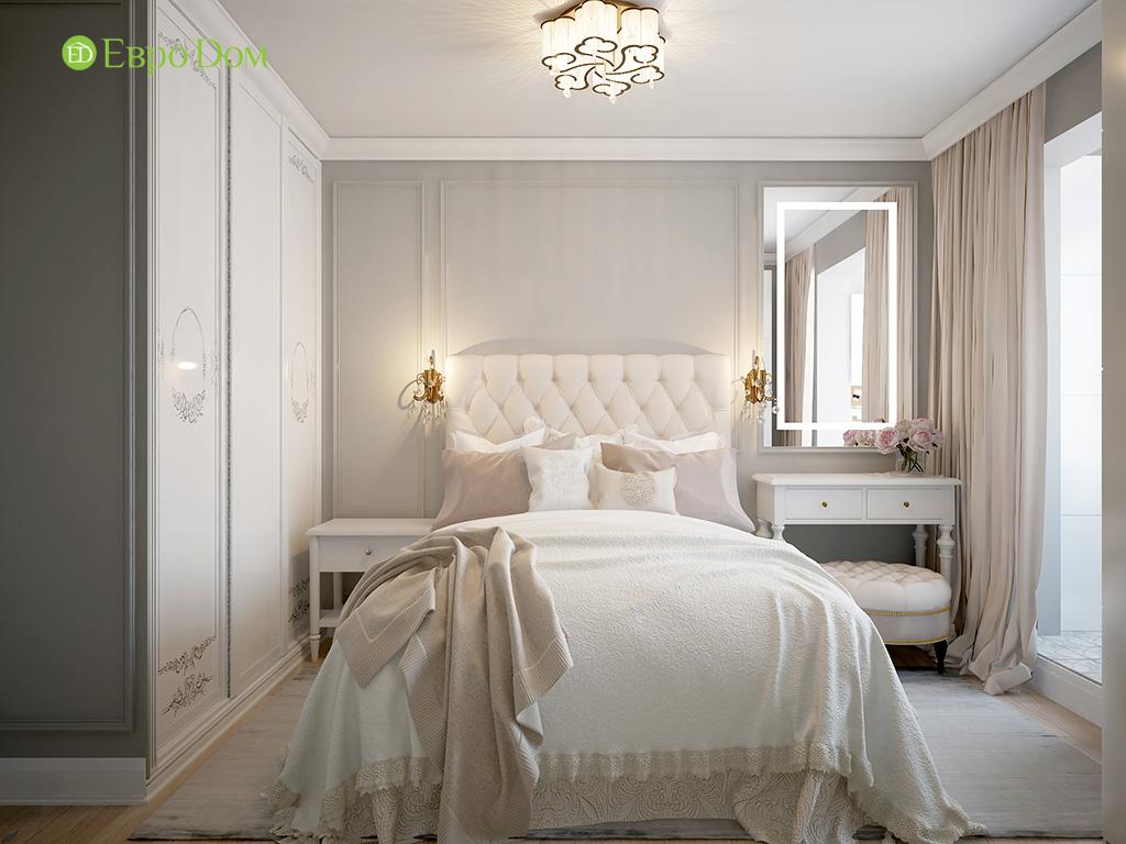Интерьер спальни в стиле неоклассика