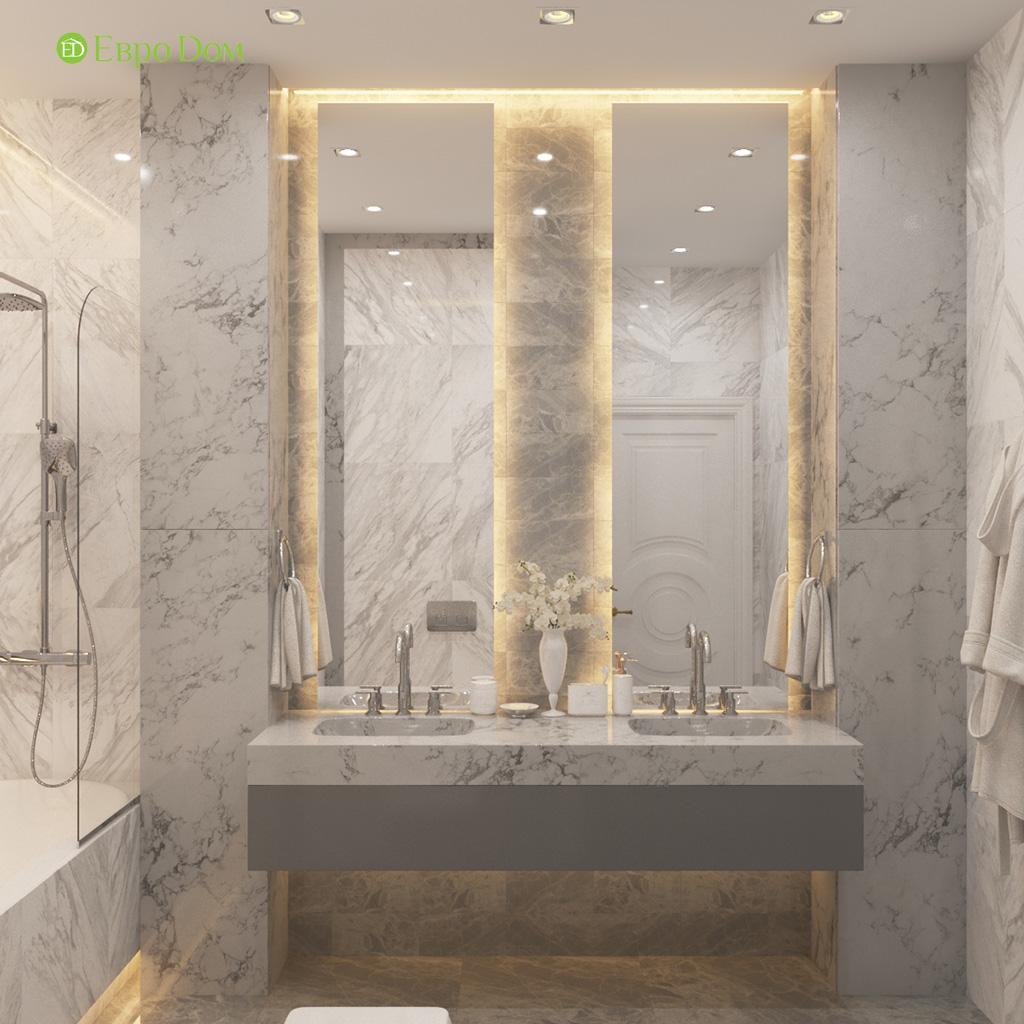 Дизайн 4-комнатной квартиры в современном стиле. Фото 03