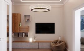 Дизайн интерьера квартиры в новостройке 134 кв.м. по адресу г. Москва, ул. Ленинский проспект, д. 103. Фото 3
