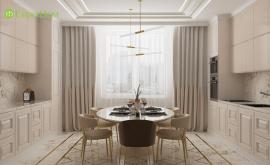 Дизайн интерьера квартиры в новостройке 134 кв.м. по адресу г. Москва, ул. Ленинский проспект, д. 103. Фото 4