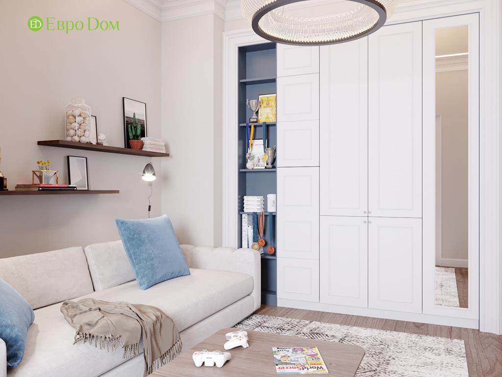 Дизайн 4-комнатной квартиры в современном стиле. Фото 010