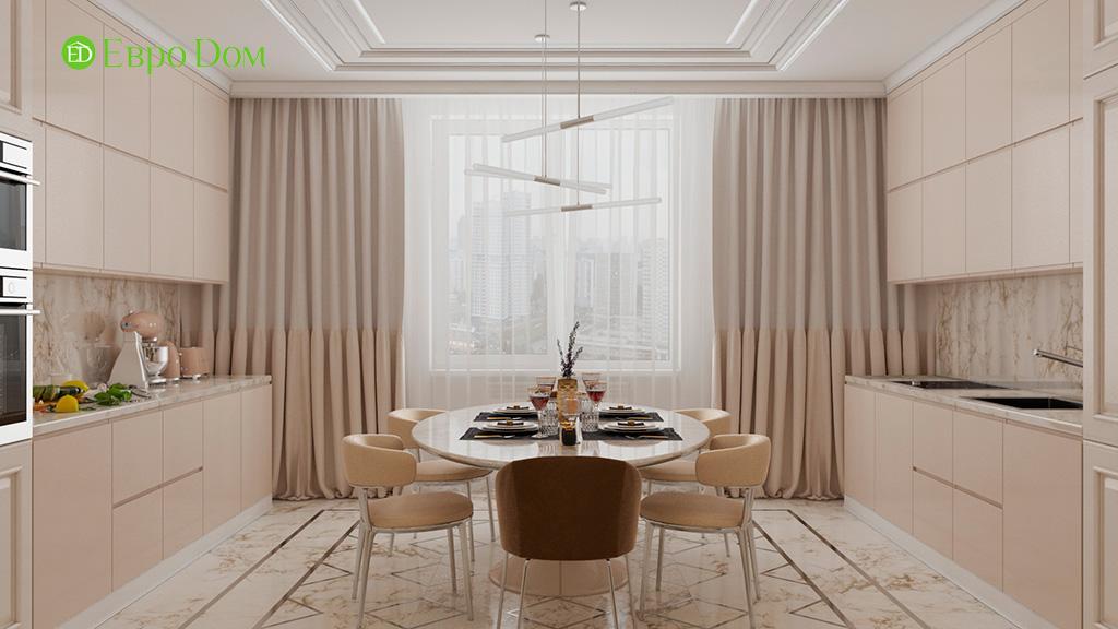 Дизайн 4-комнатной квартиры в современном стиле. Фото 028