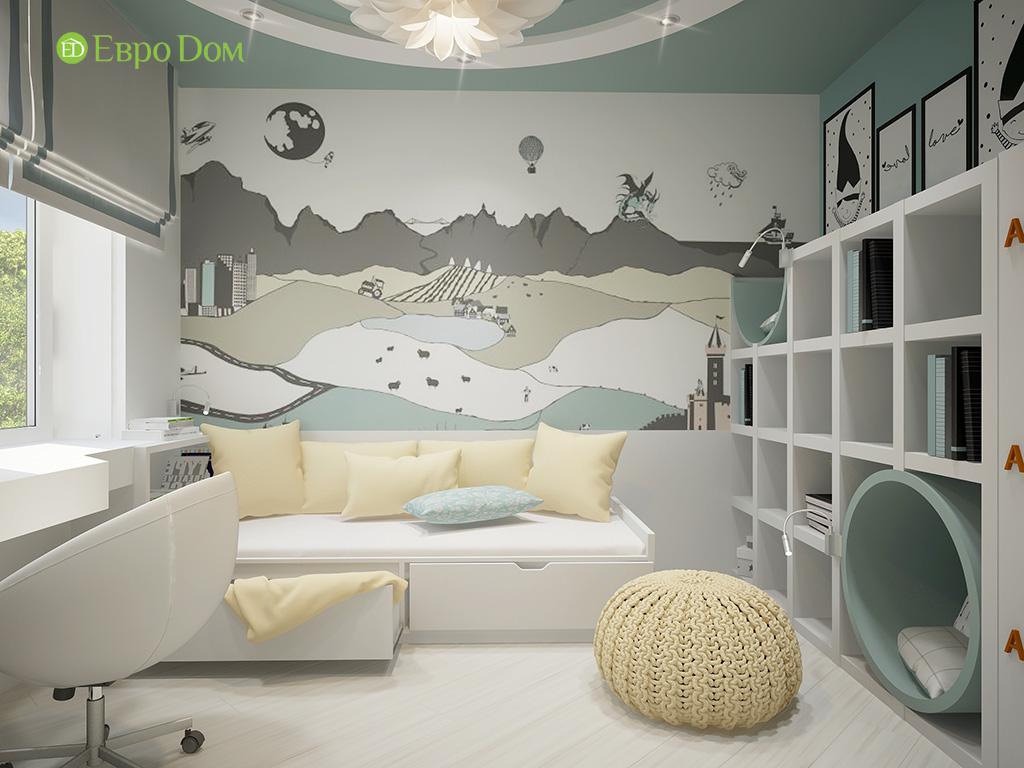 Дизайн пятикомнатной квартиры в современном стиле. Фото 02